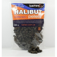 Baitex Pellets Halibut 11 мм 1000г