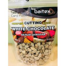 Baitex Бойл Вареный Прикормочный Shelf  life boilies Cutting ( Резаные) 500г - White chocolate