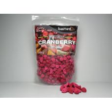 Baitex Бойл Вареный Прикормочный Shelf  life boilies Cutting ( Резаные) 500г - Сranberry