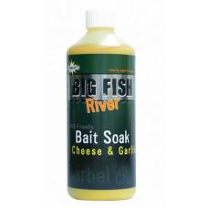 DY1379, Big Fish Bait Soak - Cheese &Garlicl 6x 500 ml рідка прикормка Dynamite Baits