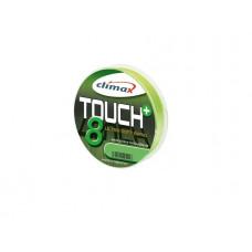 Шнур CLIMAX Touch 8 Plus BRAID 135 m 0.10 6,80 kg, chartreuse SB