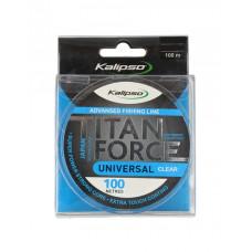 Волосінь Kalipso Titan Force Universal CL 100м 0.40мм