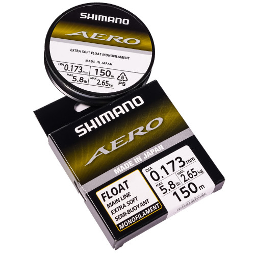 Волосінь Shimano Aero Float Line 150m 0,173mm - 2.65kg - UK Line Class 5lb Clear