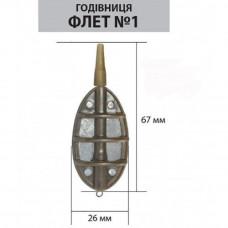 Кормушка ФЛЕТ №1 15 гр.