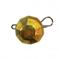 гранований 10  грам  золотий джиг розбірний; 7 шт. в упаковці