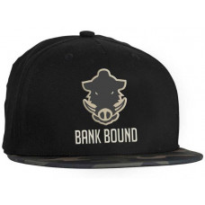 Кепка Prologic Bank Bound Flat Bill Cap Black/Camo
