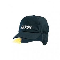 Бейсболка Jaxon UJ-CZX02A с фонариком 5 диодов, черная