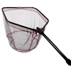 Підсак Fishing ROI складаний с прогум. сіткою 60*60 red