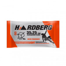 HARDBERG Light антибоктериальная салфетка 35*25 см,8 шт