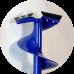 Ледобур iDabur D110мм с коваными ножамистандарт-К